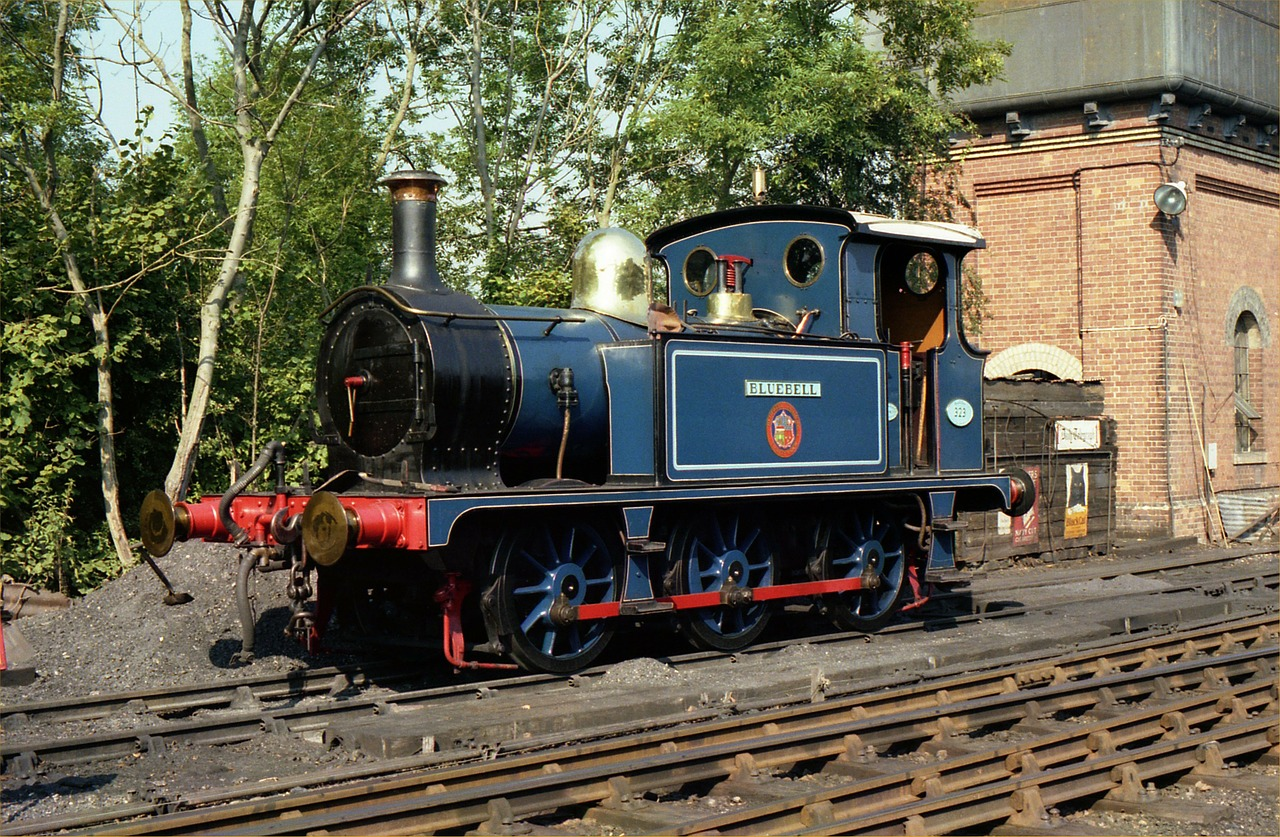 locomotive bluebell train free photo