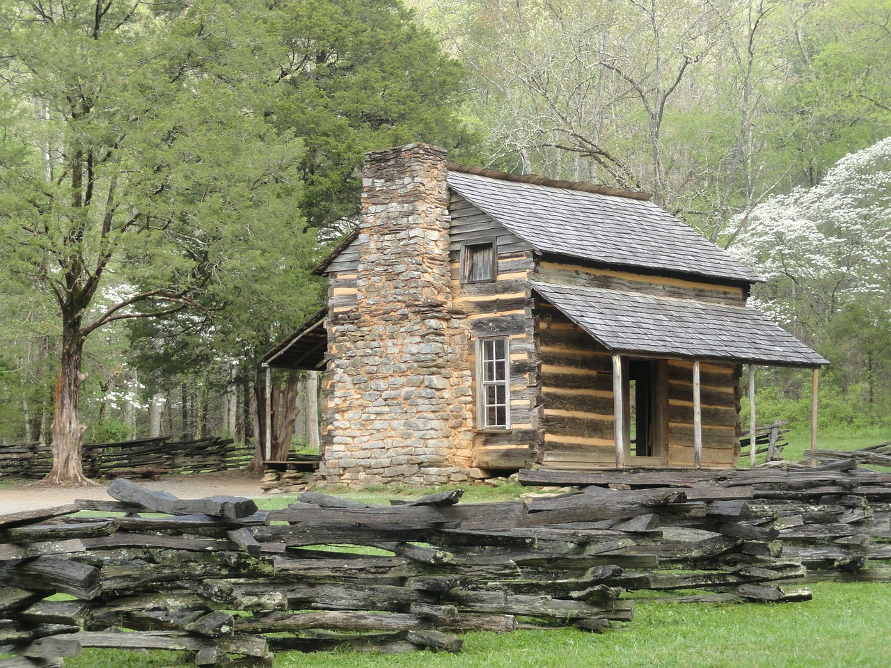 log cabin old house log free photo
