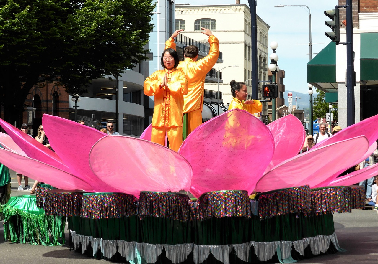 Lotus Flowerparadefairy Talefloweroriental Free Photo From
