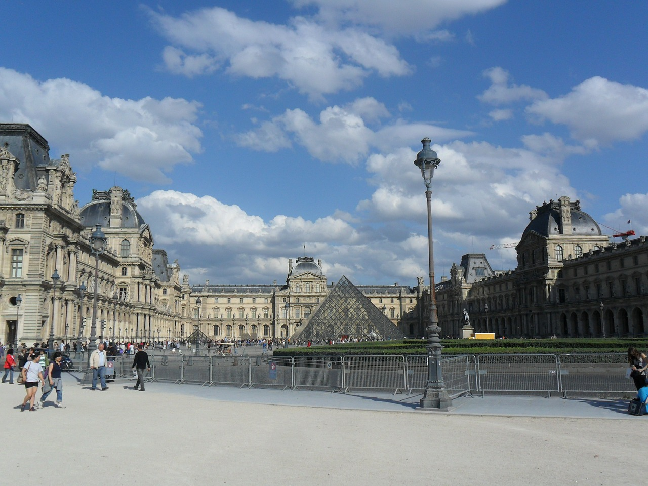 louvre paris france free photo