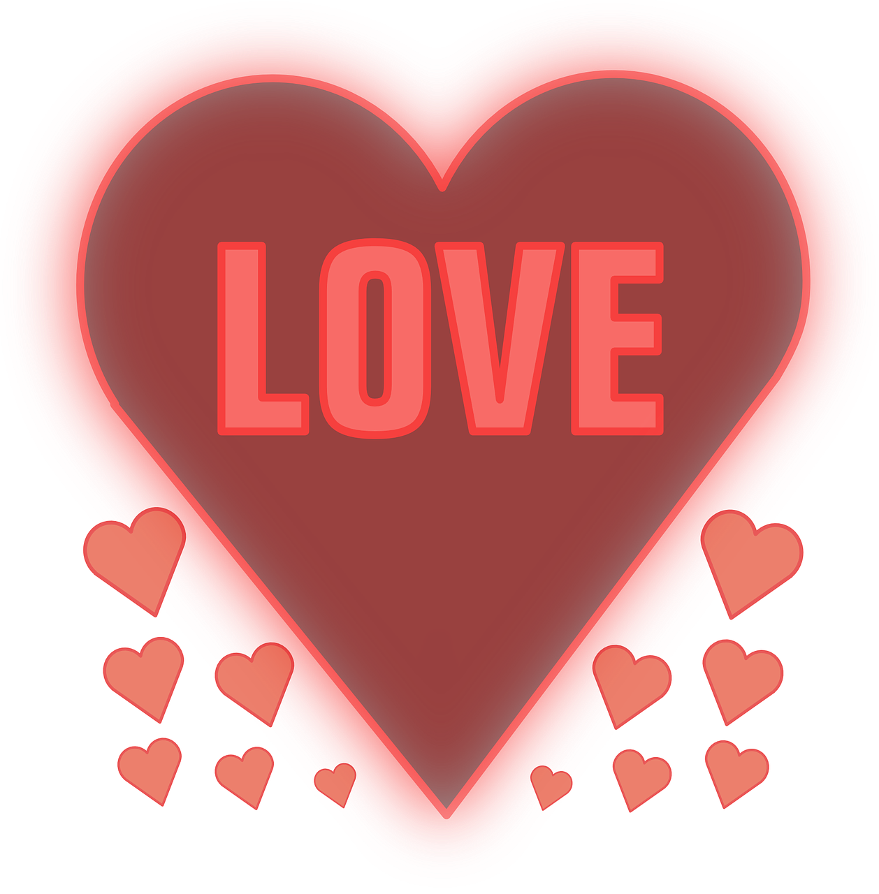 love heart affection free photo