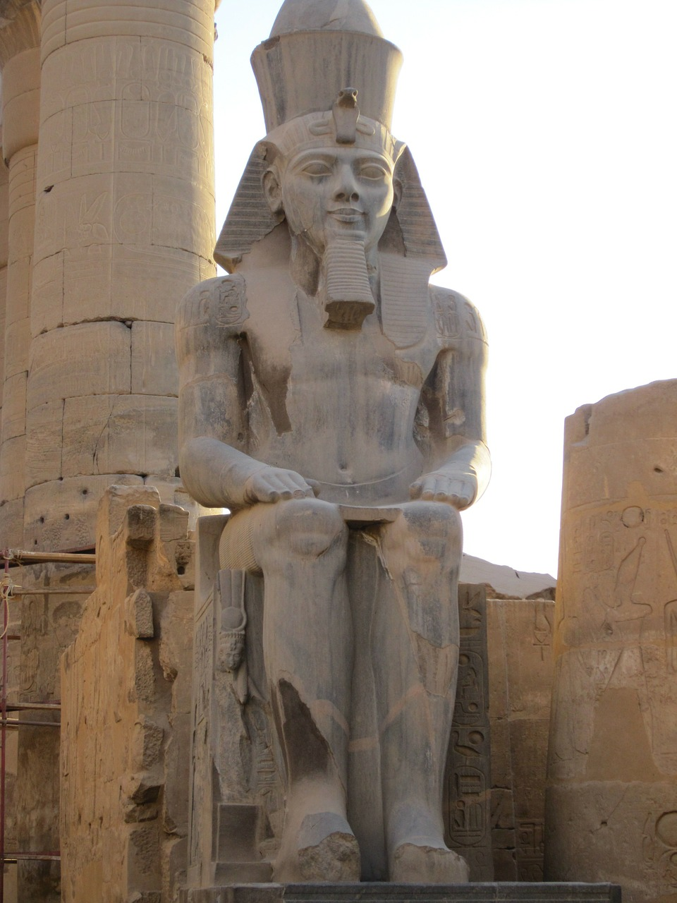 luxor egypt pharaonic free photo
