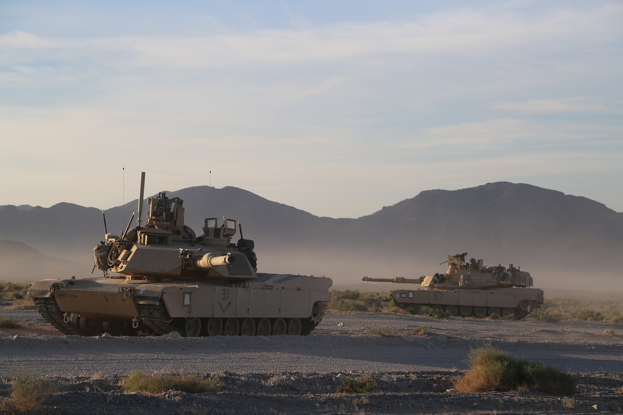 m1a2 abrams exercise heavy armour free photo