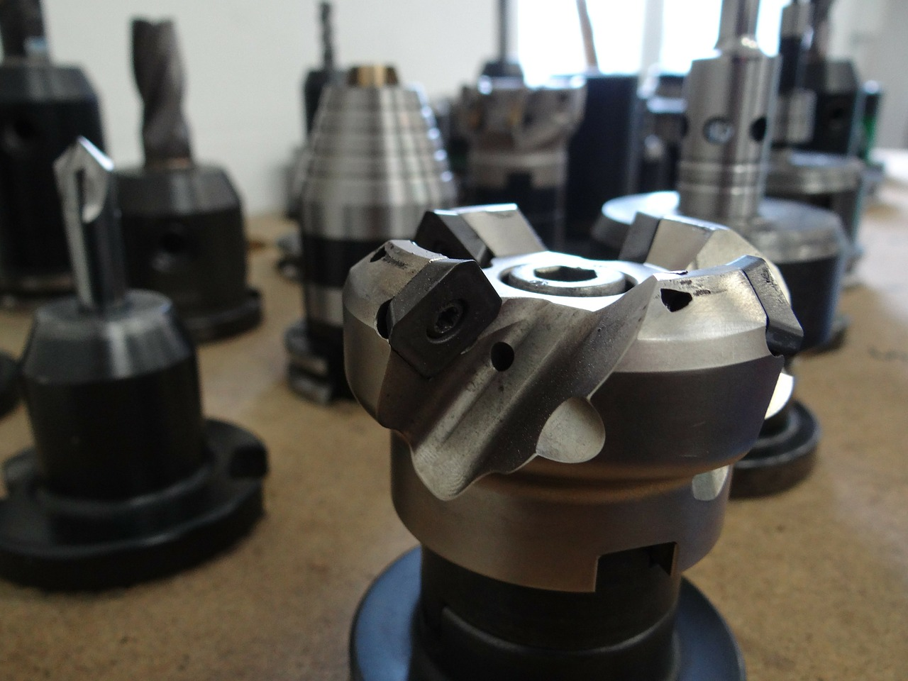 machining drill chuck free photo
