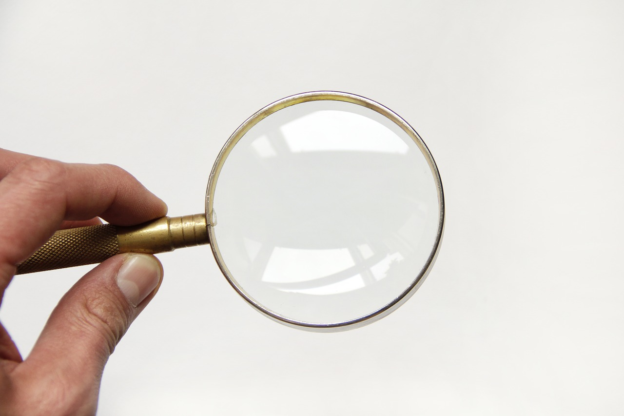 magnifier glass magnifying glass free photo