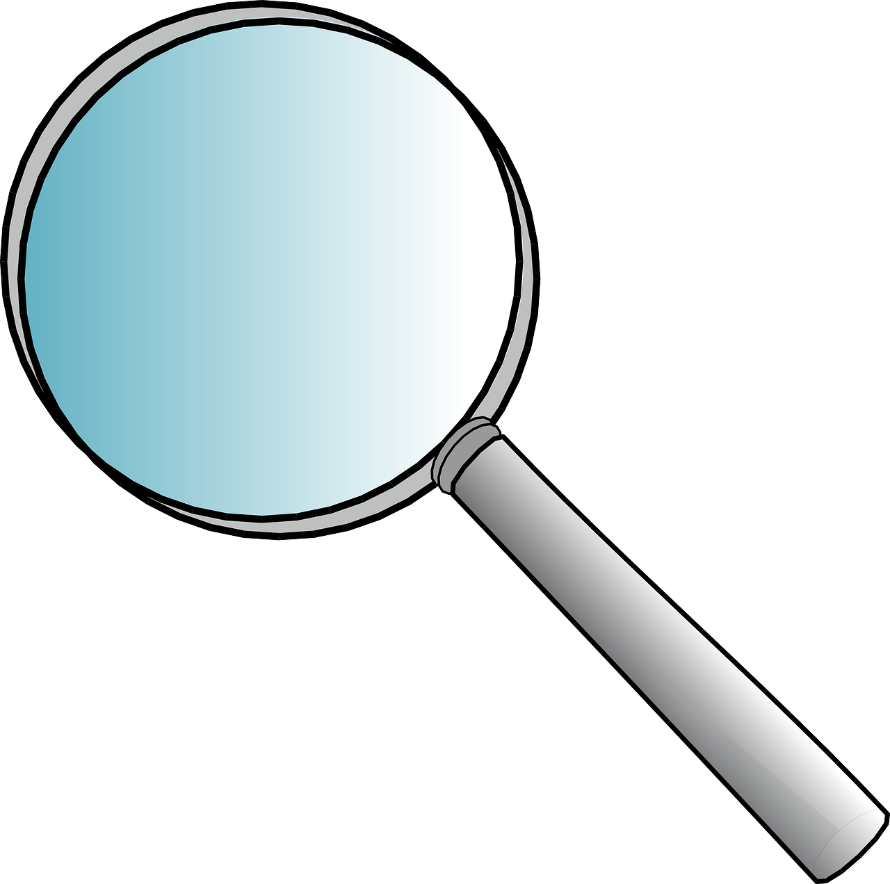 magnifier glass office free photo