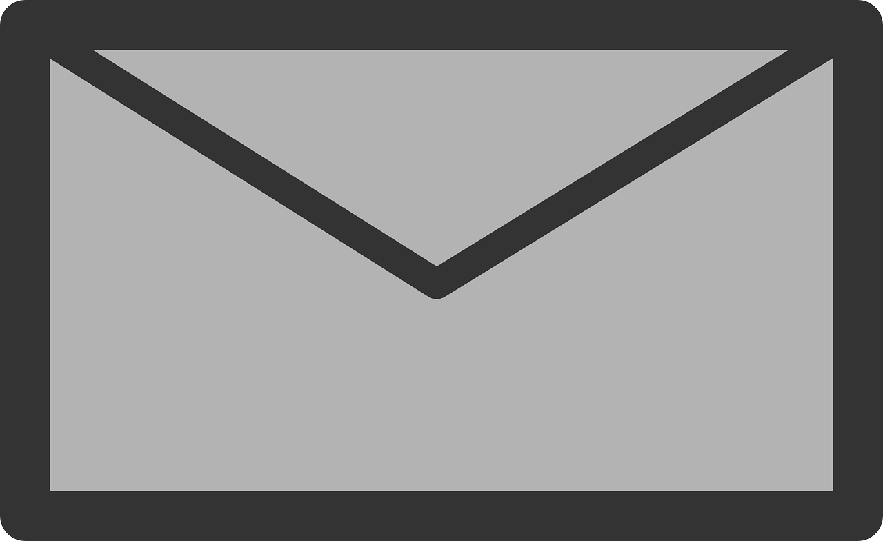 mail sign icon free photo