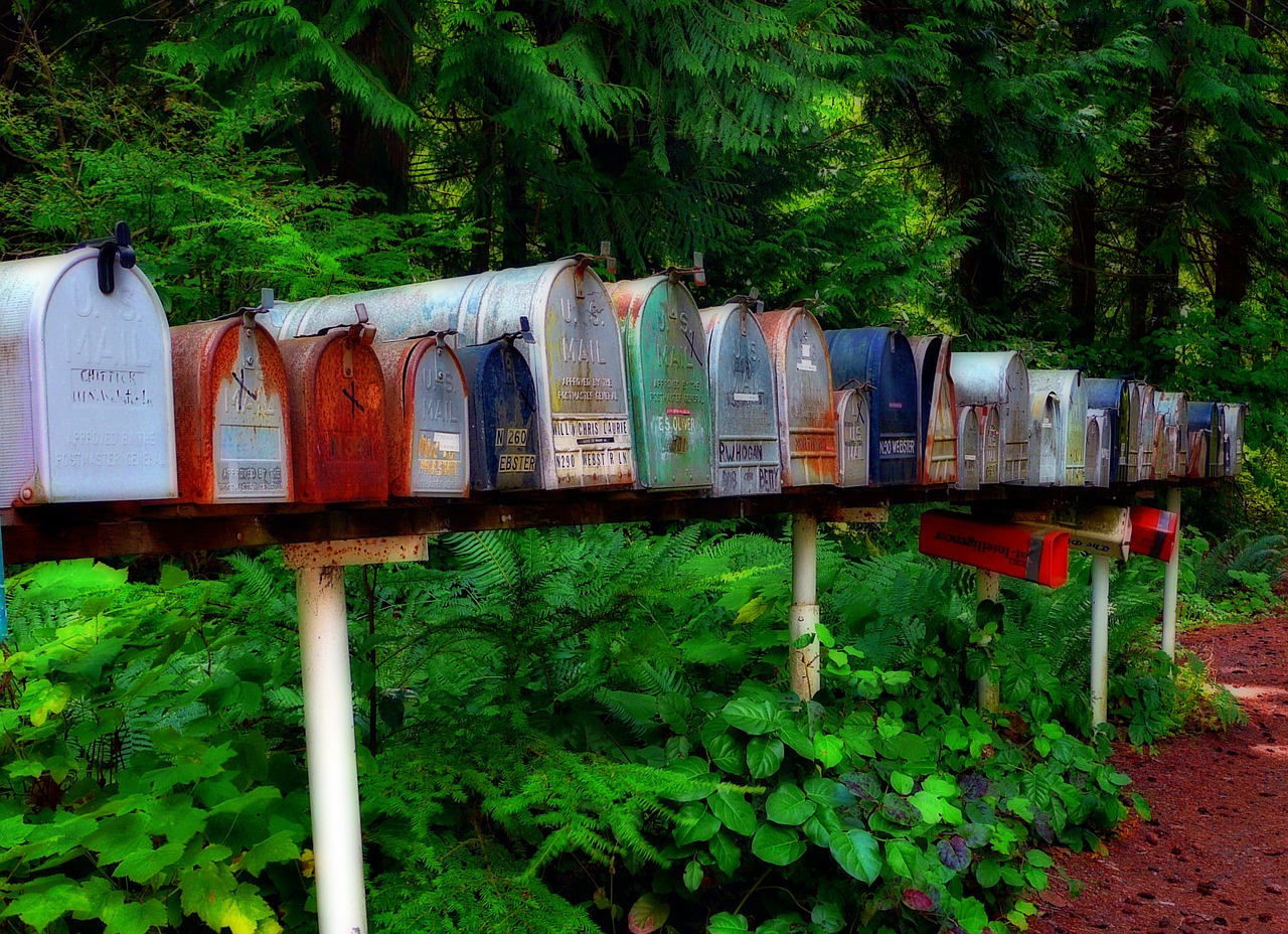 mailbox postbox letters free photo