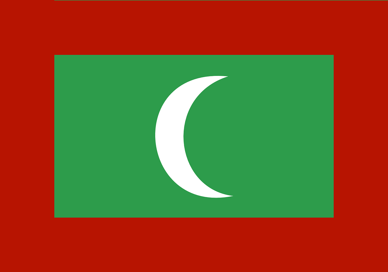 maldives flag country free photo
