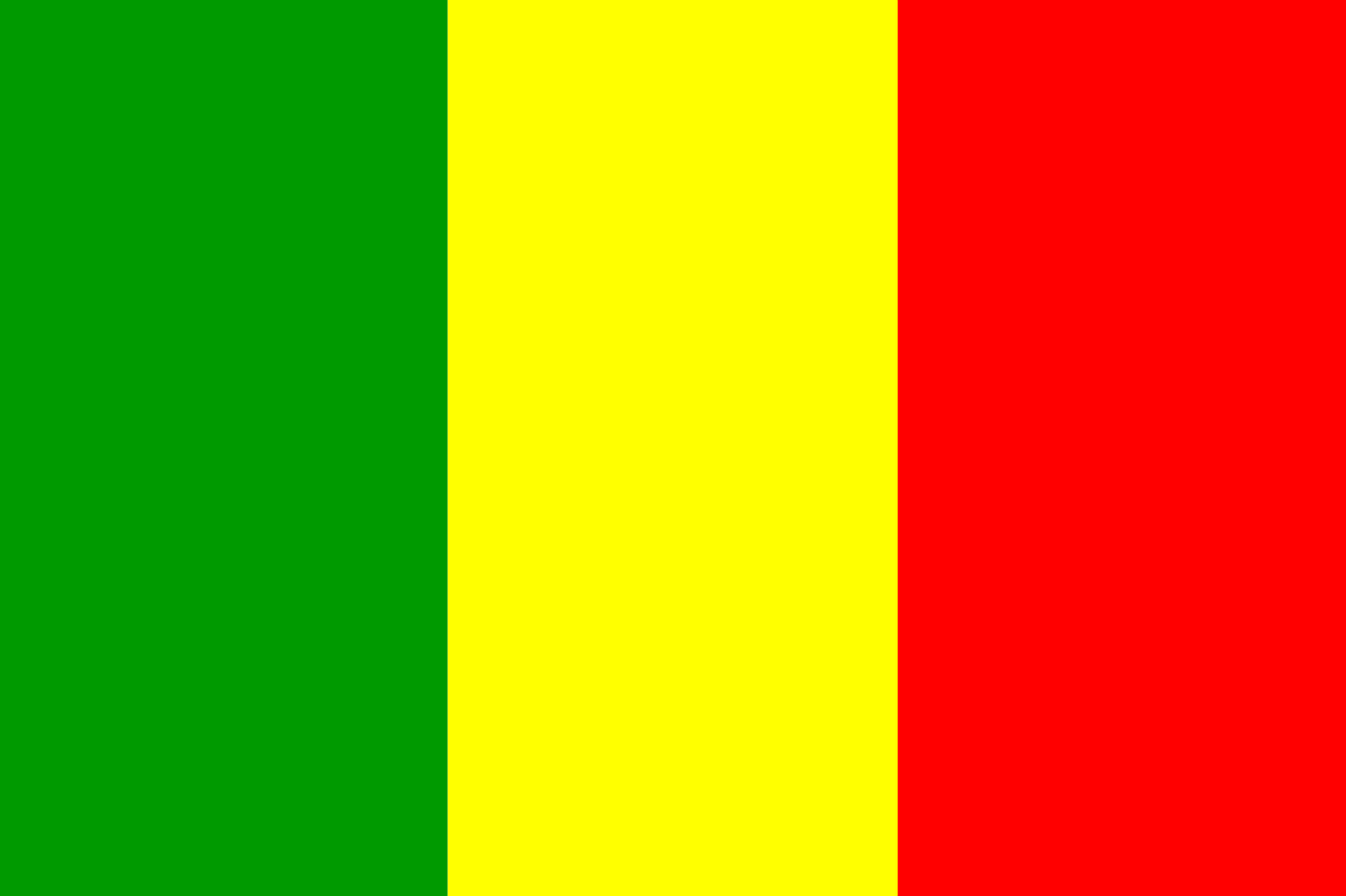mali flag country free photo