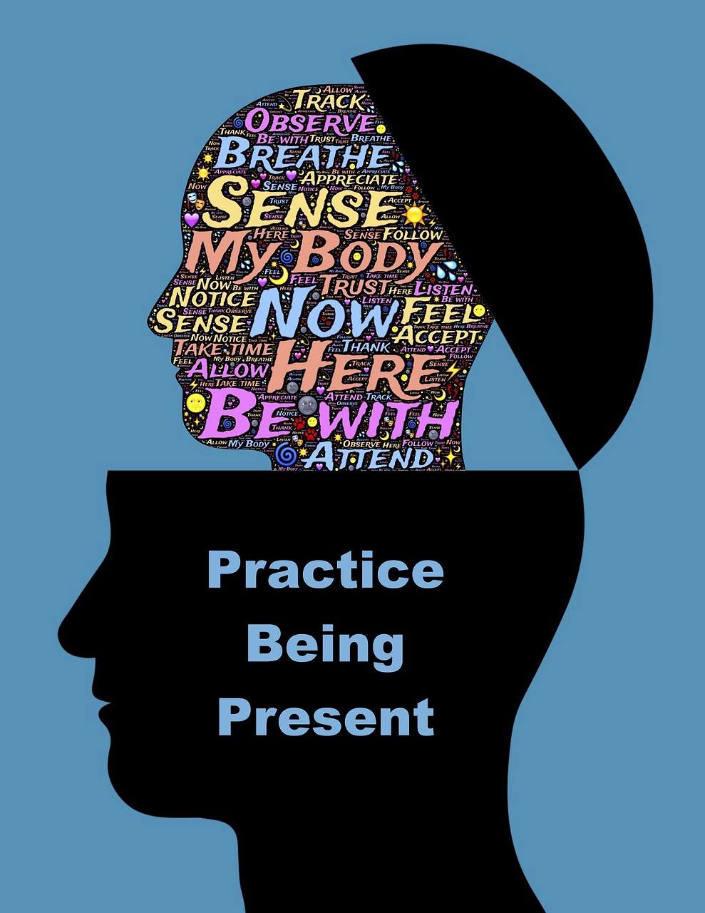 Man,profile,practice,mind,meditation - free image from needpix.com