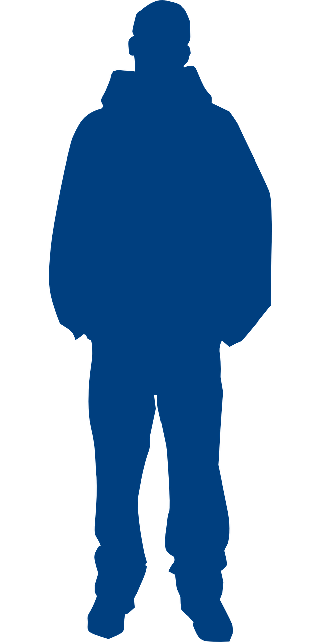 man,standing,person,male,isolated,casual,confident,body,guy,silhouette,free vector graphics,free pictures, free photos, free images, royalty free, free illustrations