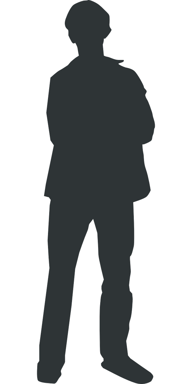 man,silhouette,person,human,standing,free vector graphics,free pictures, free photos, free images, royalty free, free illustrations, public domain