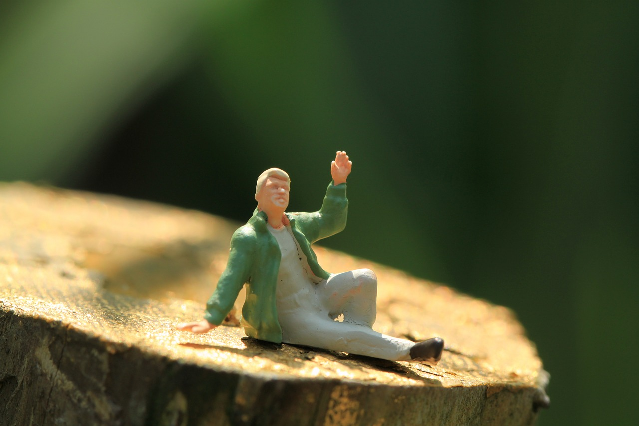 man figure miniature free picture