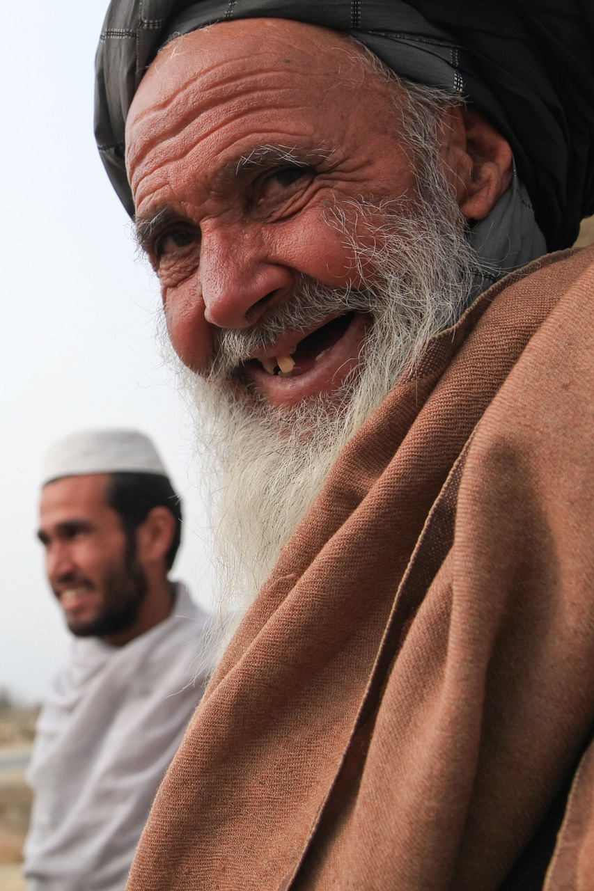man old afghanistan free photo