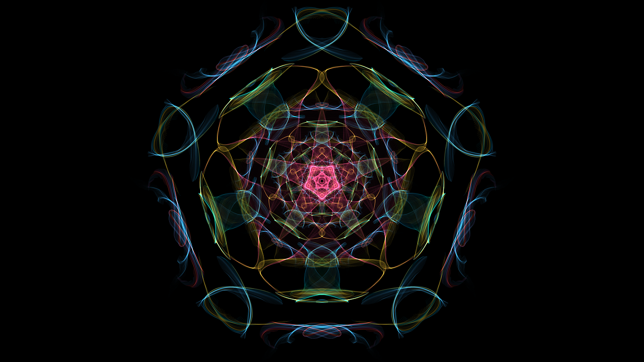 mandala artistic figure free photo