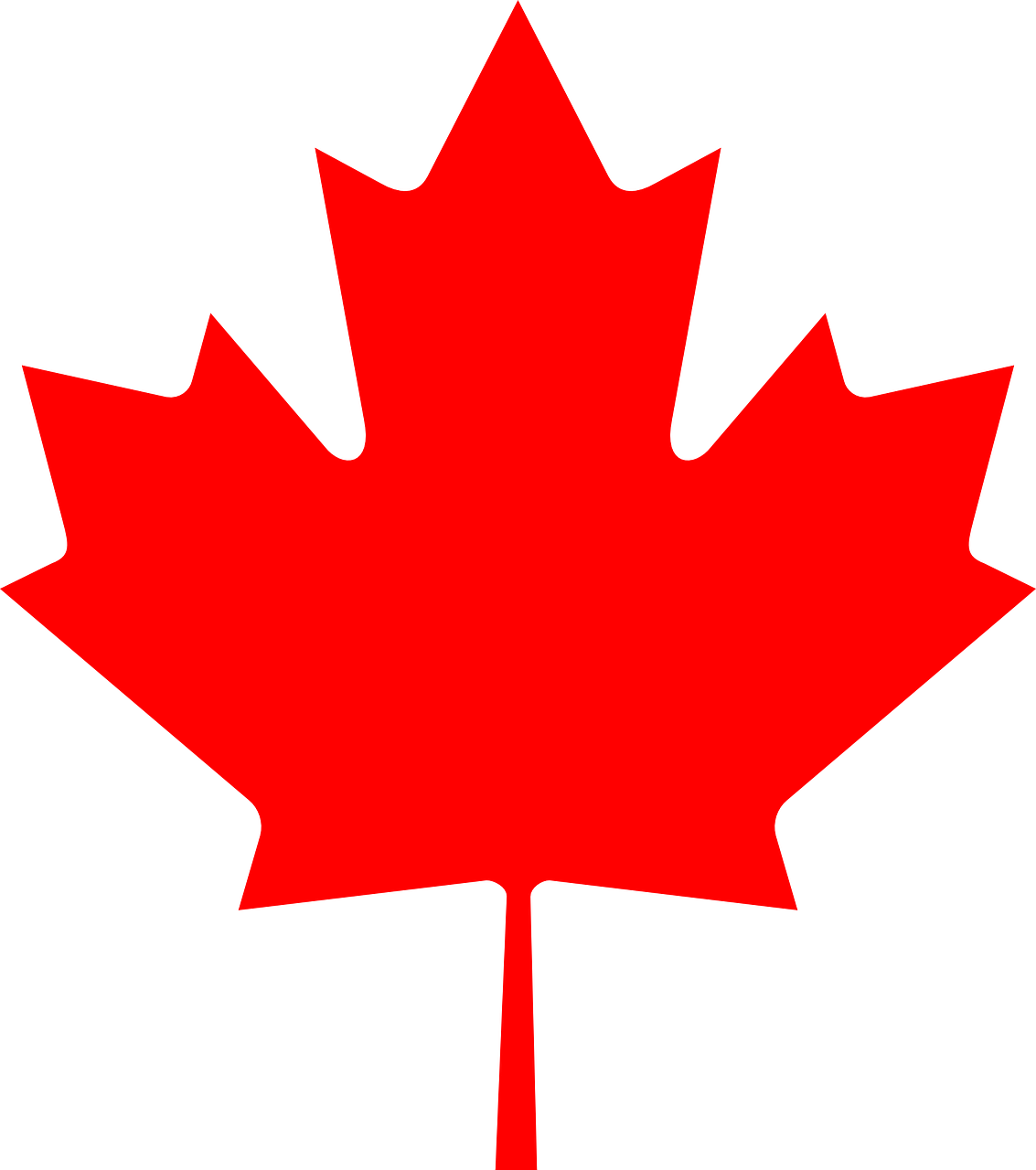 maple leaf canada canadian free photo