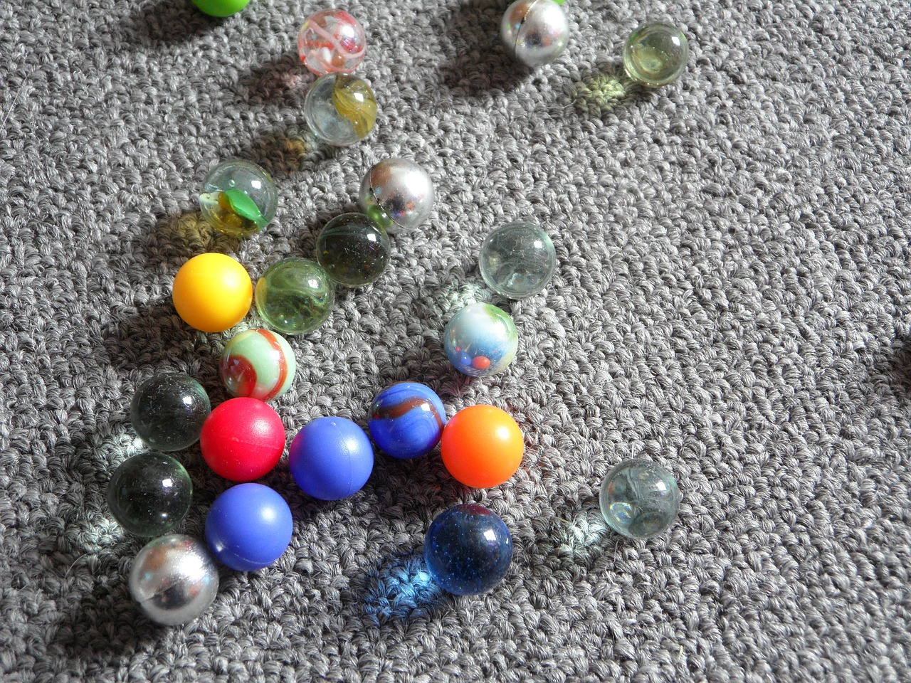 marbles glass marbles children free photo