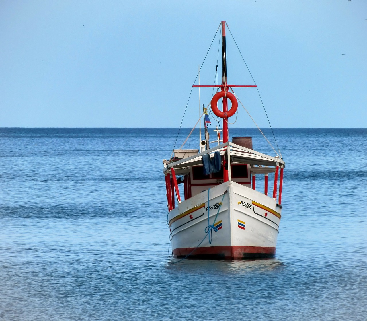 margarita island boat sea free photo
