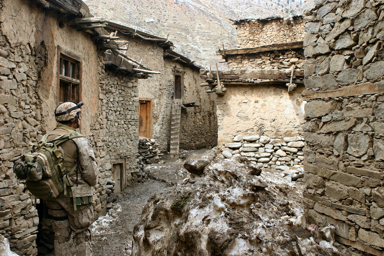 marines afghanistan war free photo