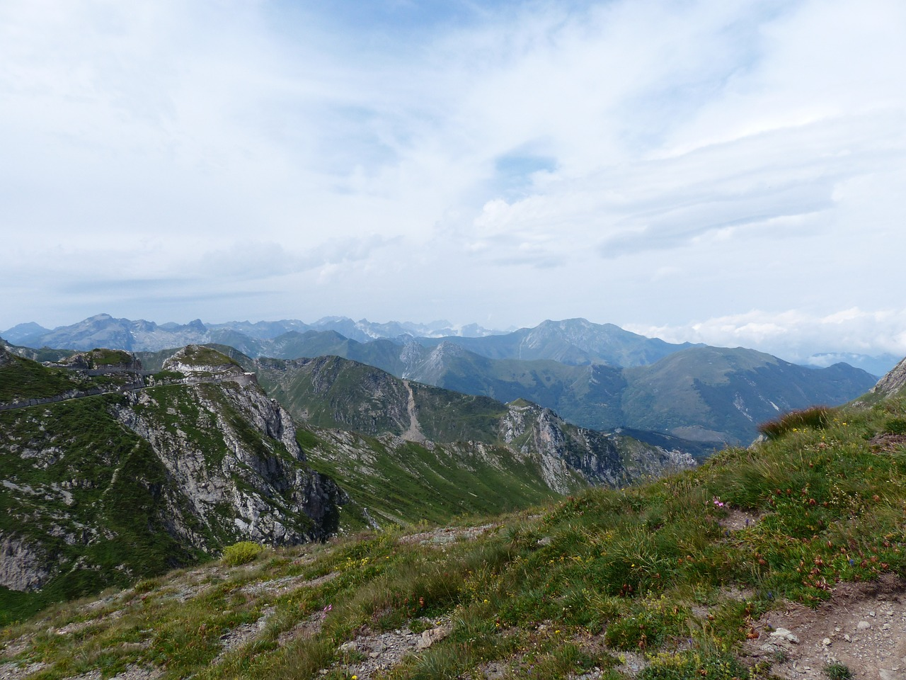 maritime alps alpine mountains free photo