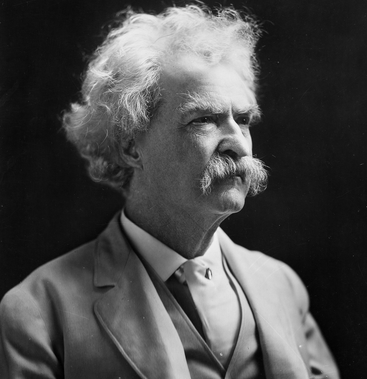 mark twain man person free picture