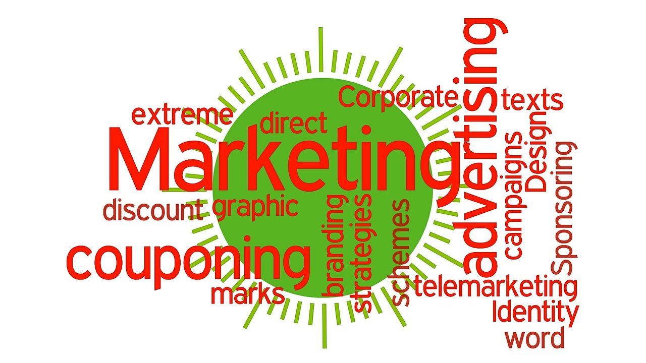 marketing strategies advertising campaigns word marks free photo