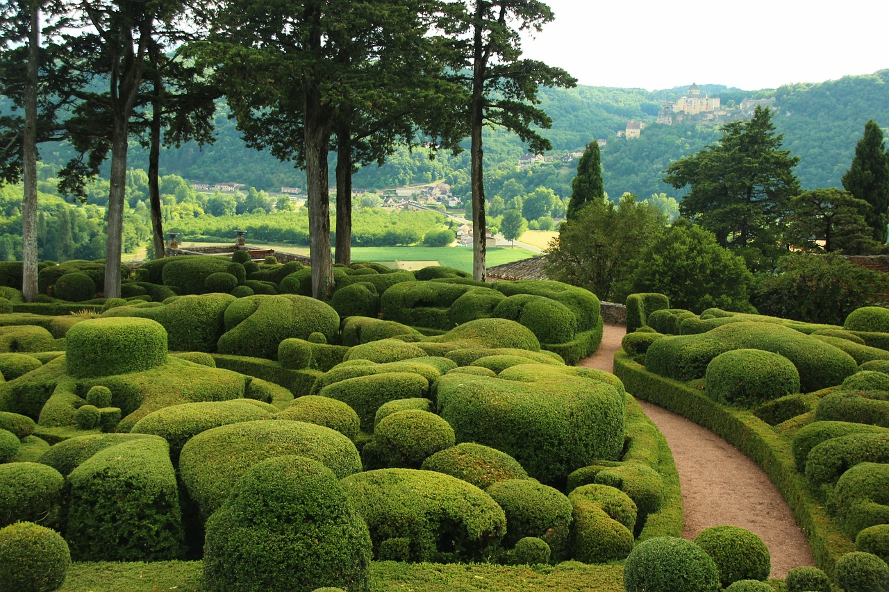 Marqueyssac,bowls,france,bush cut,free pictures - free image from ...
