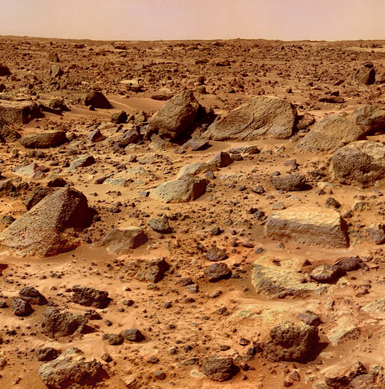 mars planet surface free photo