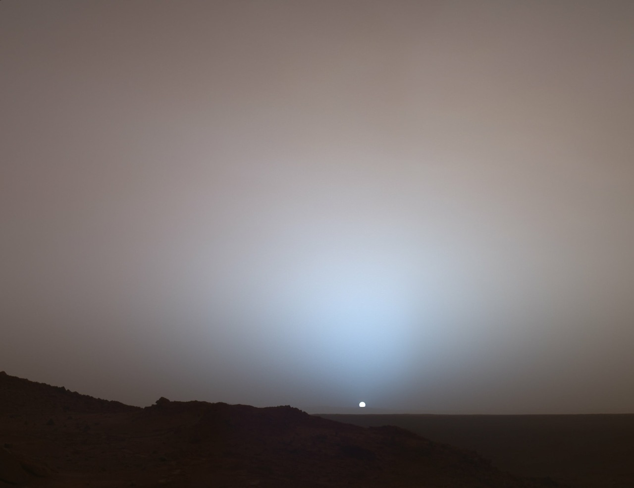 mars planet sunrise free photo