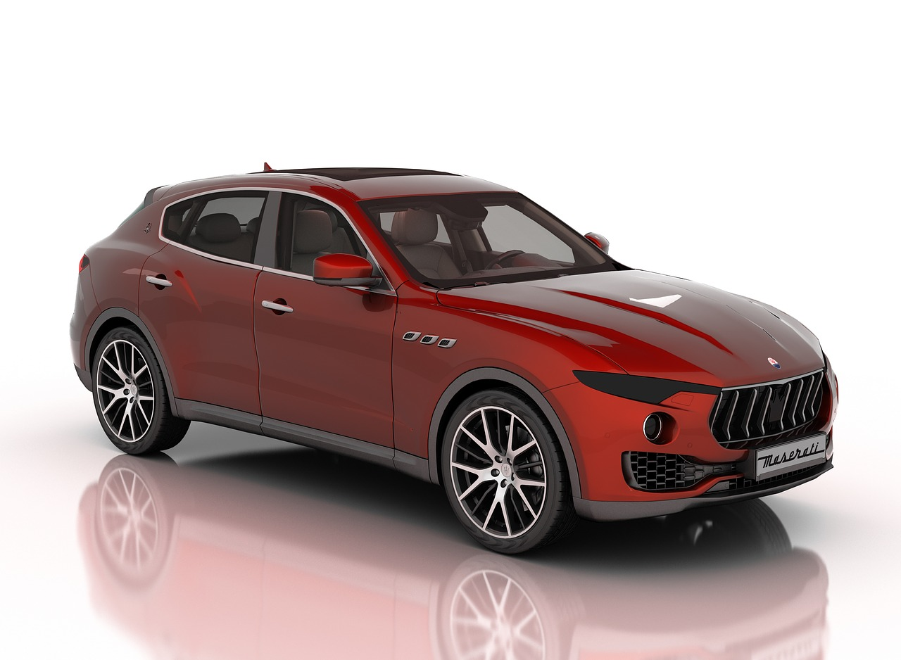 maserati levante  car  suv free photo