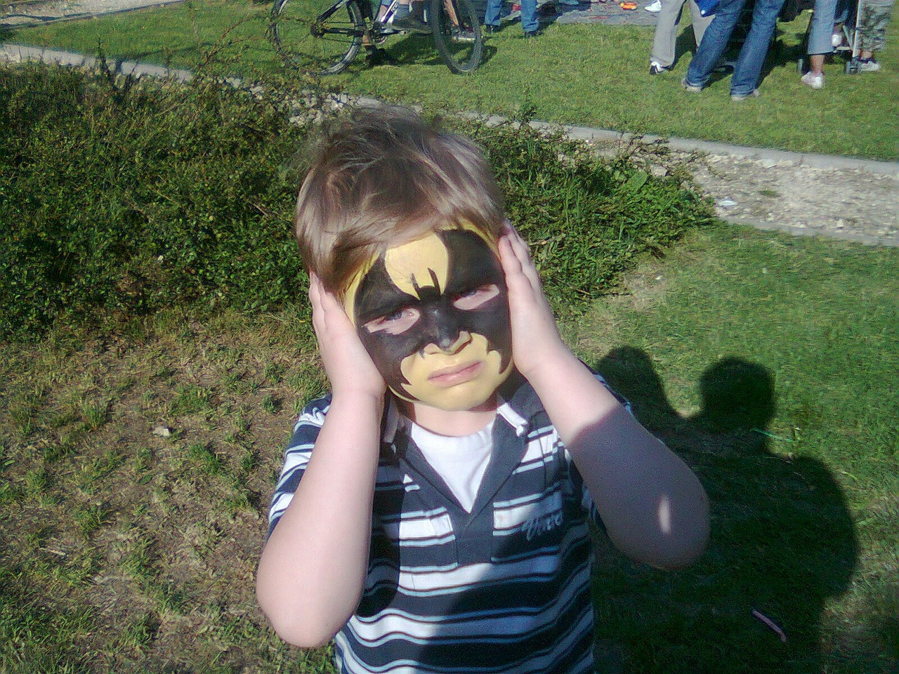 mask face-paint batman free photo
