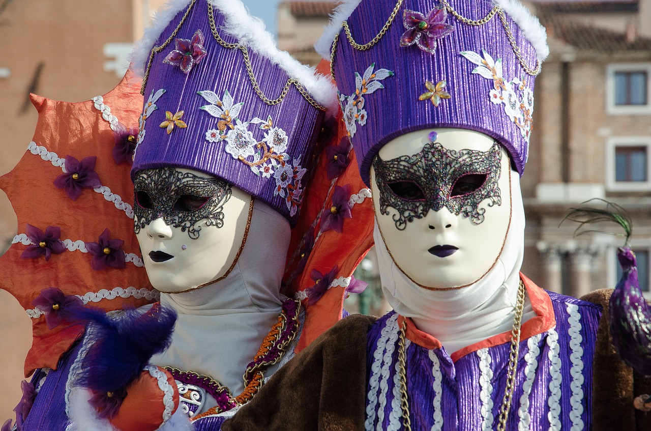 masks carnival venice free photo