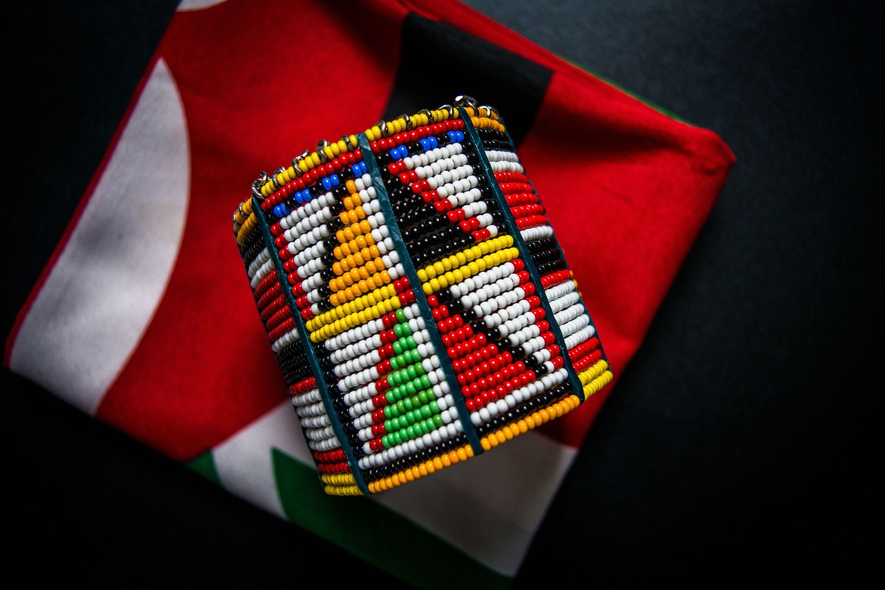 massai beads accessories free photo