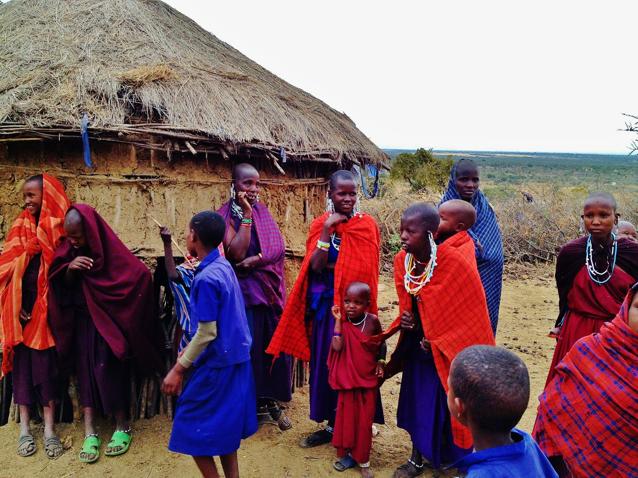 massai people tanzania free photo