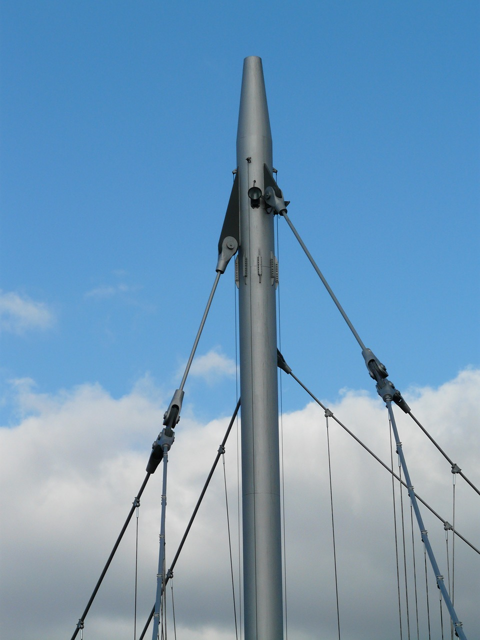 masts bridge steel free photo