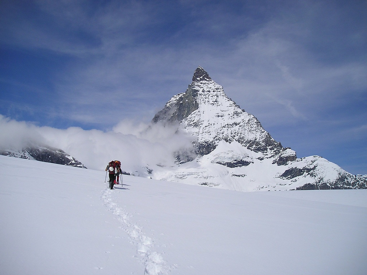matterhorn zermatt mountains free photo