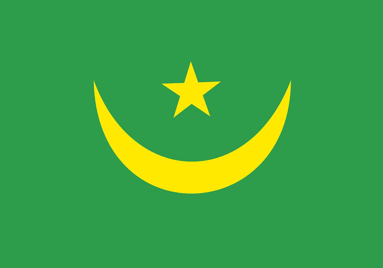 mauritania flag national free photo
