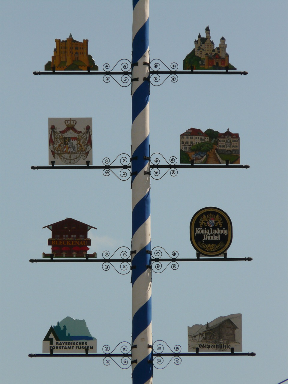 maypole bavaria may free picture