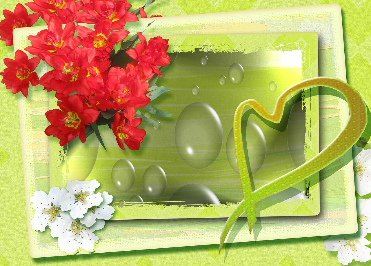 merry easter easter greeting free photo