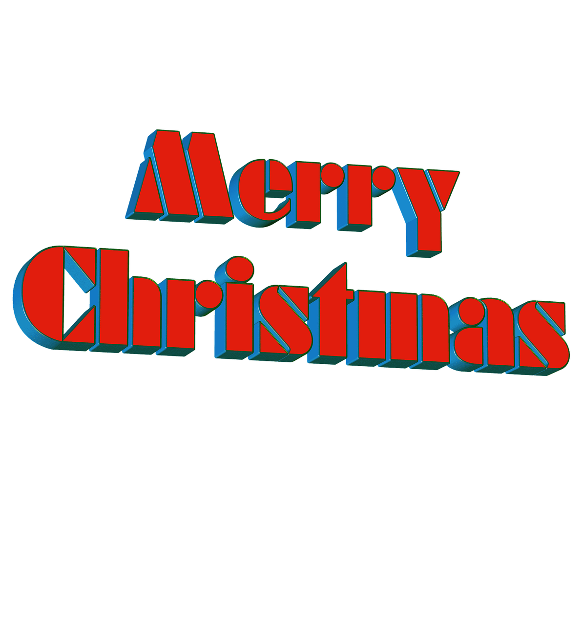 Merry Christmas Fonts Images.Merry Christmas Fonts 3d Lettering Isolated Free Photo