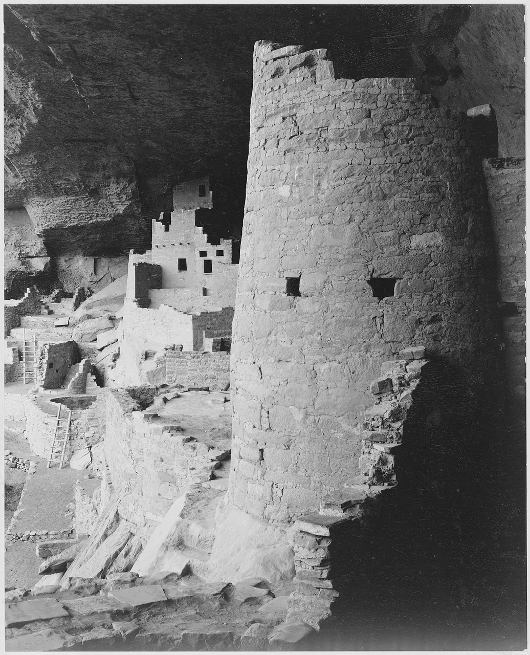 mesa verde national park california 1930s free photo