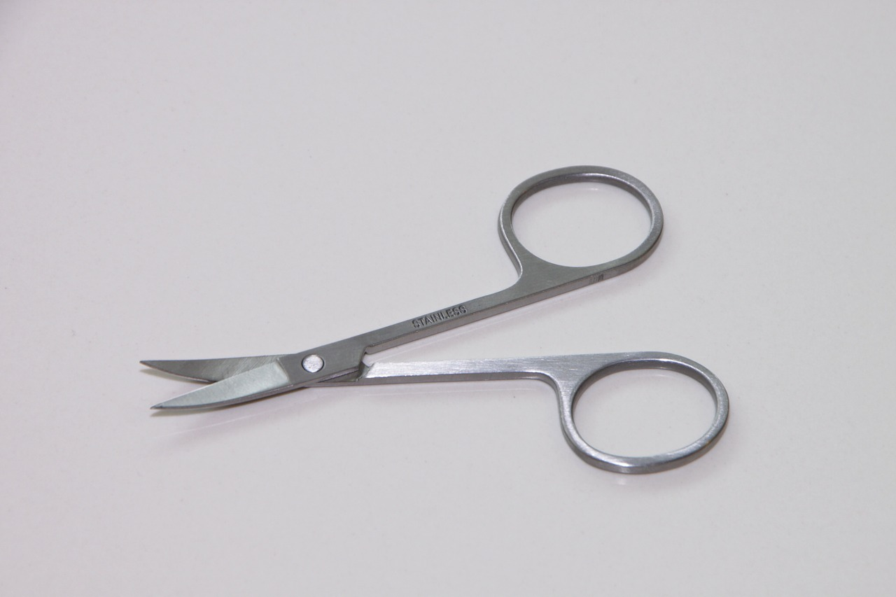 metal nail scissor free photo