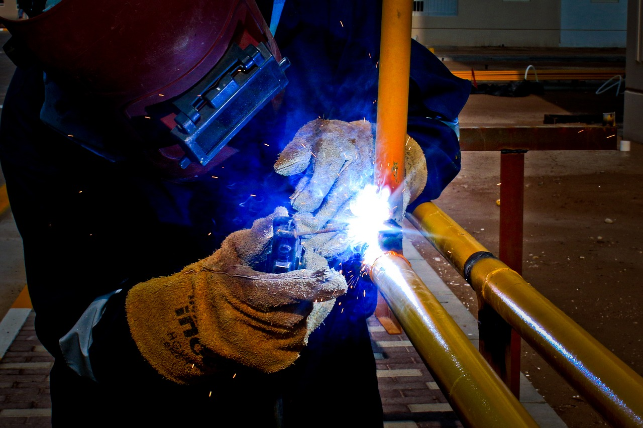 metalwork people industry free photo