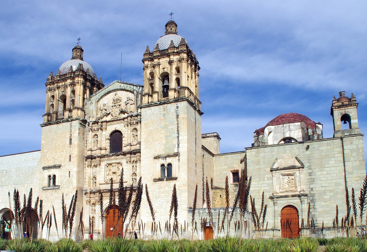 mexico oaxaca cathedral free photo
