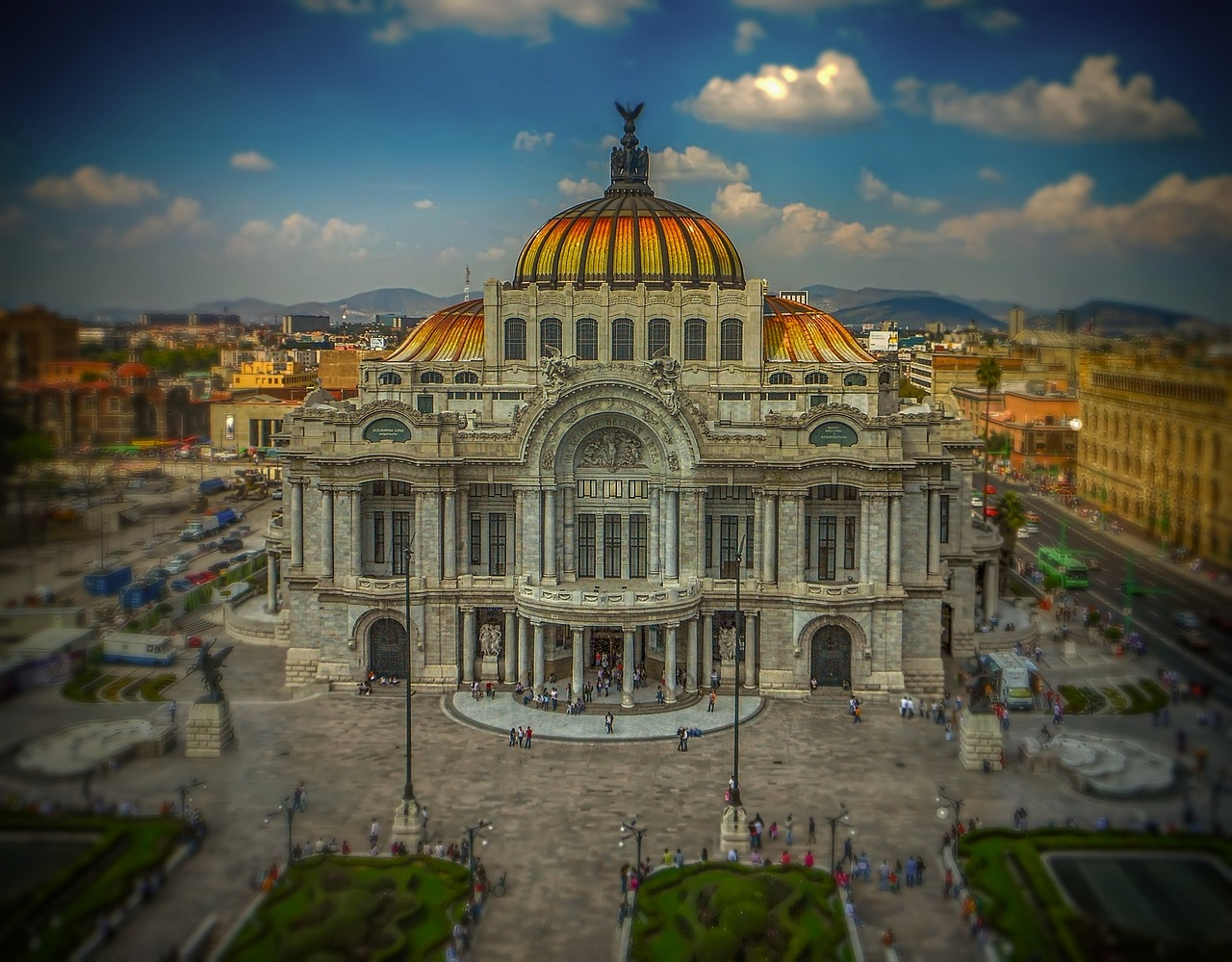 mexico,mexico city,palace,art,theatre,architecture,building,free pictures, free photos, free images, royalty free, free illustrations, public domain