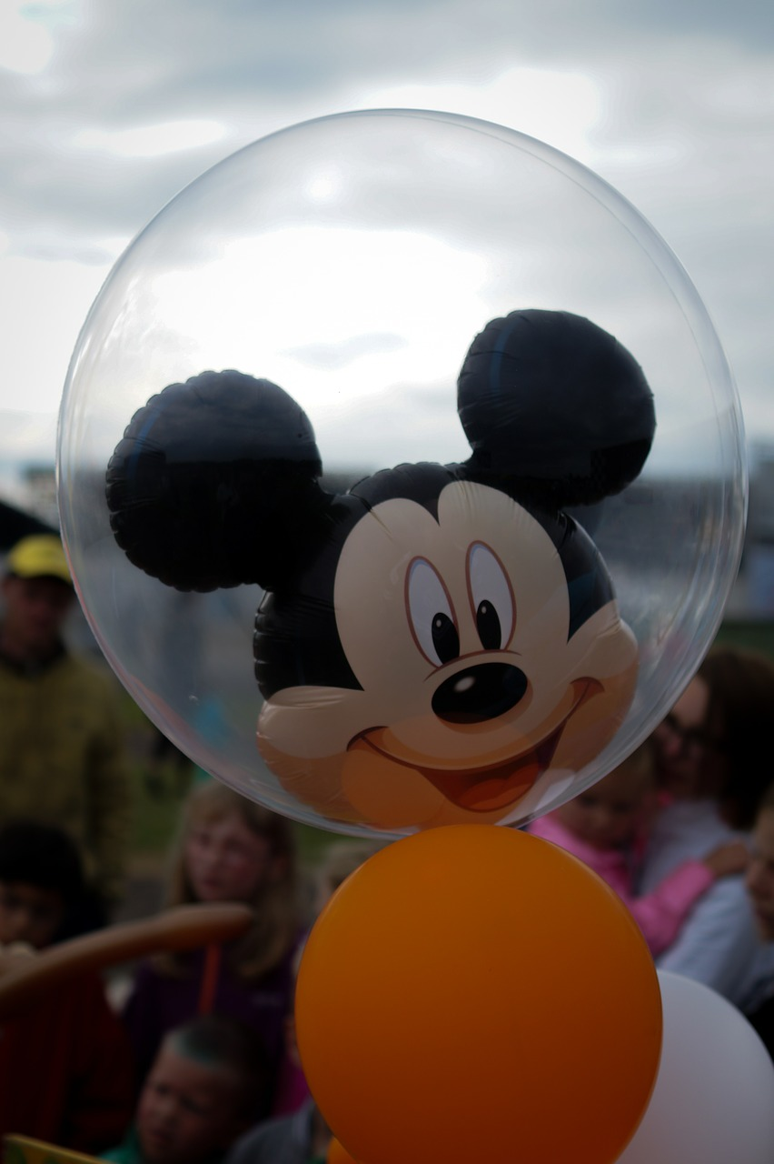 mickey mouse balloon helium free photo