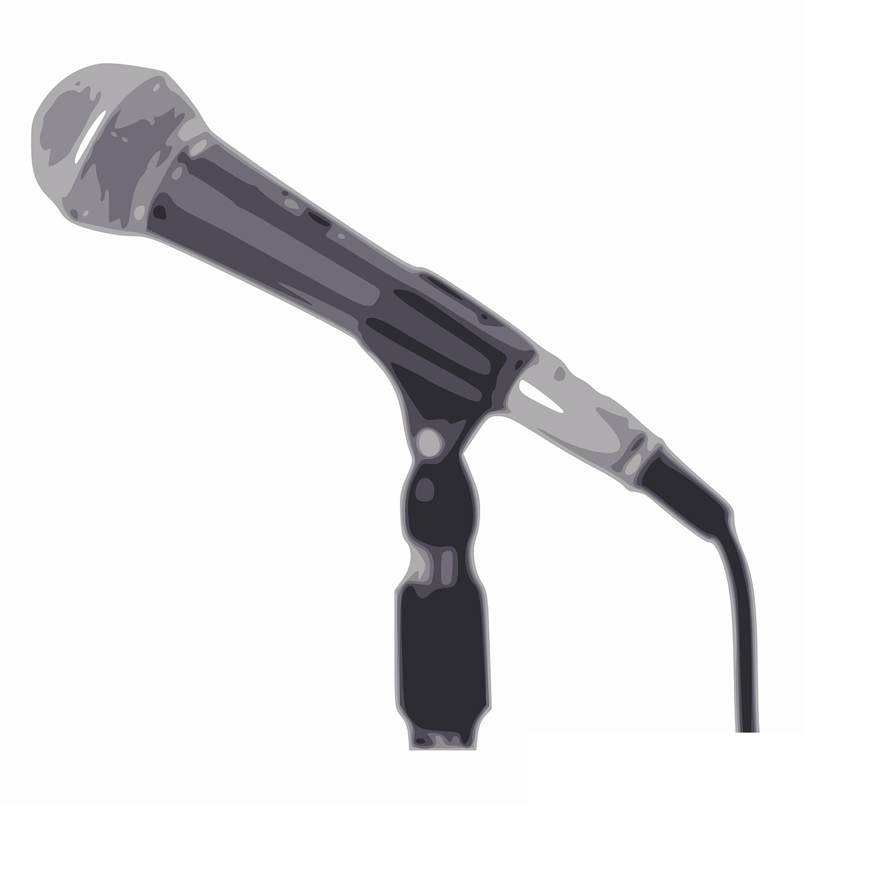 microphone stand mic free photo