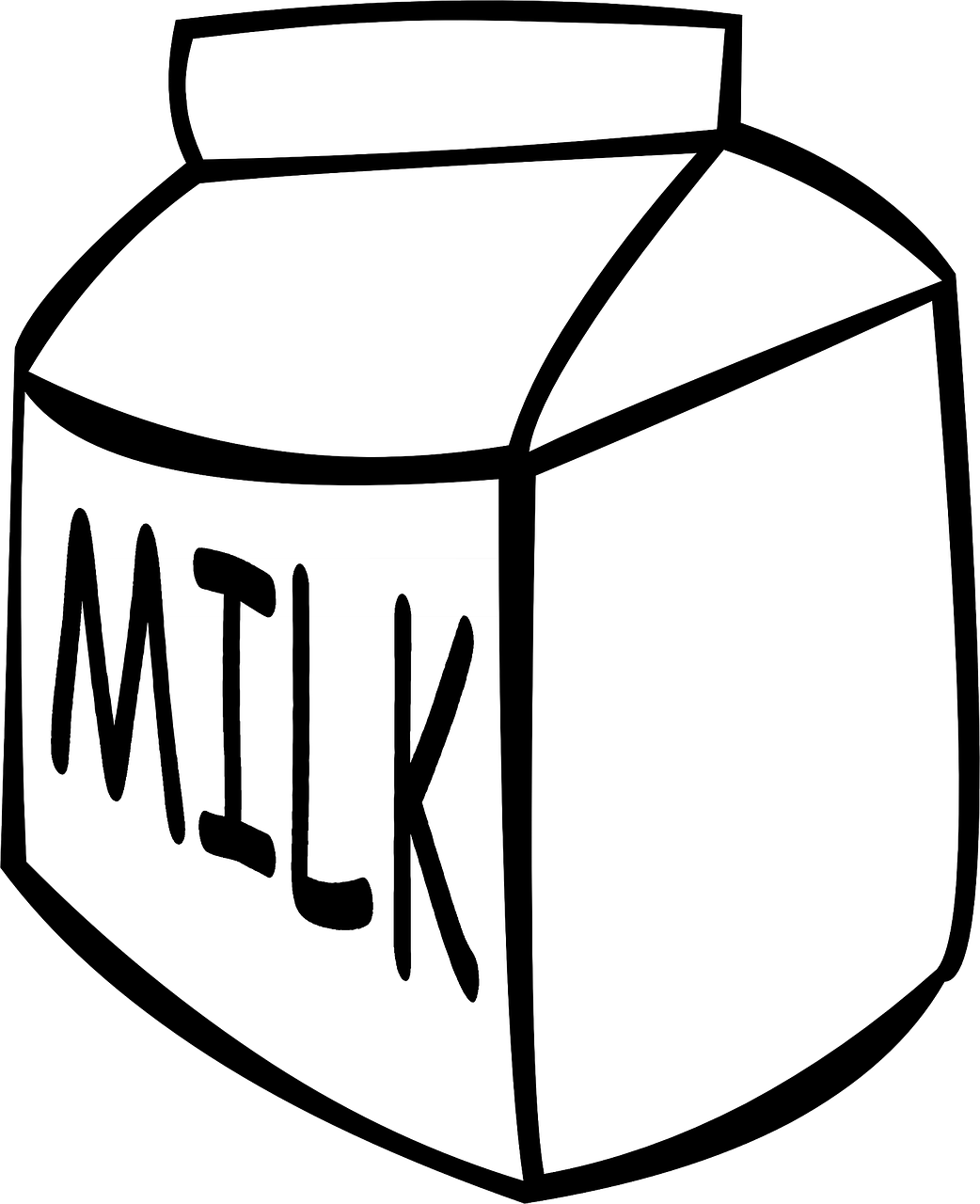 milk carton drink free photo