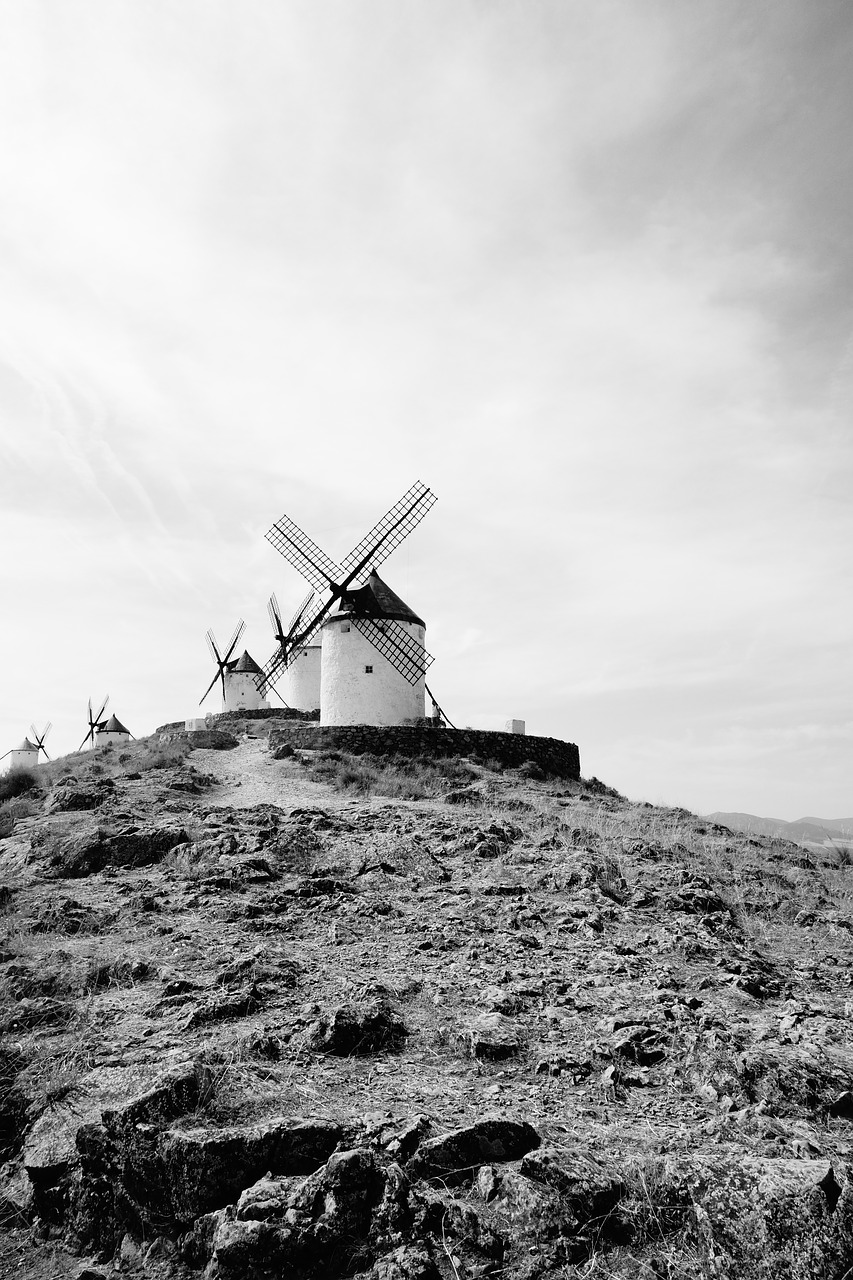 mill andalusia don quixote free photo